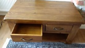 4 Drawer Wooden Coffee Table