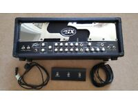 Peavey JSX Joe Satriani Signature Valve Guitar Amp Head with Footswitch, 120W, USA-Made, 3-Channel