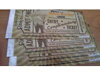 Ripleys Believe it or Not tickets x 4 - £15 each