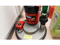 THERMADRY CARPET CLEANING MACHINE PLUS PADS