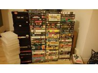 VHS 112 Classic Films/TV Shows **Collection only ** £15 CHEAP!!!