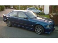 1998 BMW E36 323i Saloon M Sport - Manual - M3 Replica - Not e30