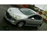 PEUGEOT 308 HDI DIESEL 1.6, 2008 MOT NICE CLEAN CAR £950