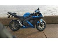 Yamaha YZF R1 5VY (underseat exhaust)