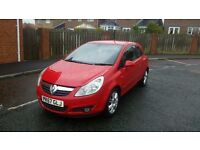 2008 VAUXHALL CORSA 1,4 DESIGN AUTOMATIC ONLY 60,000 MILES FROM NEW