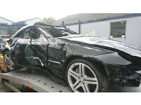 2013 Mercedes sl350 breaking