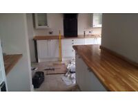 Handyman - kitchen and bathroom, Tailing, Flooring, Painting and Decorating