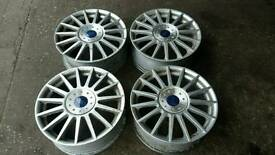 Ford st170 alloy wheels.