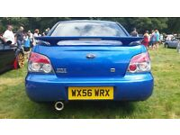 2006 Subaru Impreza WRX SL in WR Blue