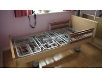 Volker/Bakare Residential Plus 90 LF Nusing/Disability Bed Natural Beech