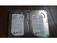 Seagate 500Gb x2 HDD