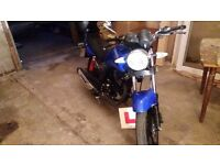 Sinis motorbike 125cc 65 plate gwo