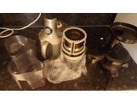 Optimum 400 revolutionary cold press slow juicer (silver)