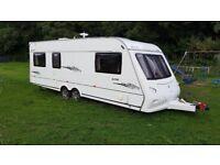 elddis avante caravan 636 twin axle 2007 two owners from new