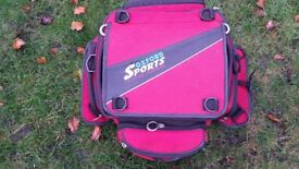 oxford sports lifetime canvass panniers and top box