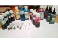 Inks for inkjet printers and CISS Systems