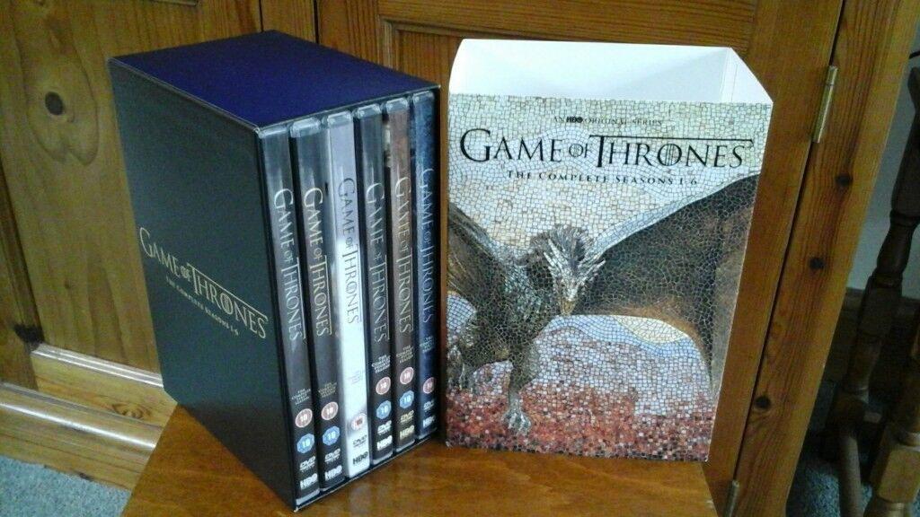 Game of Thrones DVD season1-6