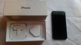 iPhone 7 32GB Black never been used only switched on to unlock it to all networks