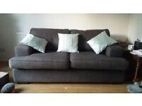 2 Seater Sofa dark grey