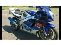 Gsxr750cc for sale £800 or swop a car