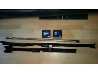 Shakespeare Omni X Quiver tip, Match Rod and Telescopic pole kit brand new bundle