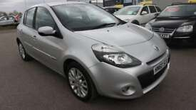 RENAULT CLIO 1.1 DYNAMIQUE TOMTOM TCE 5d 100 BHP * QUALITY & BEST VALUE ASSURED * (silver) 2010