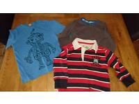 Boys 2-3 years long sleeve top bundle