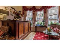 Full time Receptionist required for small friendly boutique hotel