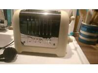 Dualit Two Slice Cream Toaster