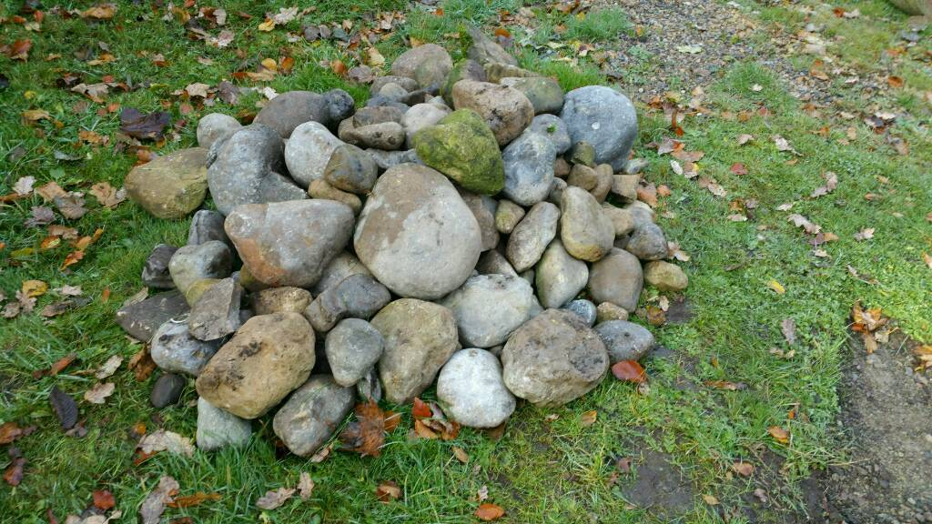 Rockery Stone, Weed Control Sheet, Securing Pegs