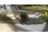 Burago 2 x vintage cars