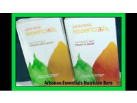 Arbonne essentials Nutrition bars (chocolate flavour)