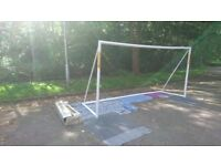 Football goal post 12ft x 6ft collection only