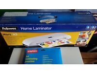 A3 Laminator and some A4 Pouches