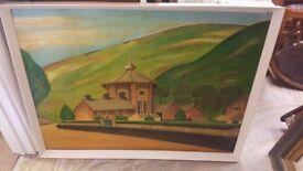 Margam Orangery Painting - 92cm x 69cm