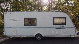 Coachman vip 2007 4 berth touring caravan all ready to use