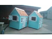 Hand crafted kids playhouse