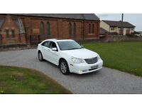 09 REG CHRYSLER SEBRING 2.0 CRTD LIMITED 5DR WHITE LEATHER 2-KEYS MOT-18 OUTSTANDING FREE-DELIVERY