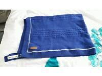 Icandy wool blue blanket never used