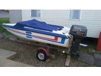 unwanted toy for sale,, Shakespeare four seetrr speed boat