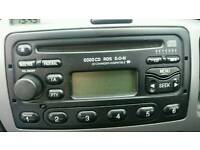 Ford focus radio with code