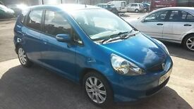Low mileage 2006(56) HONDA JAZZ SE CVT Automatic, 1.4 Petrol, 2 lady owners, 11 month MOT, HPi clear