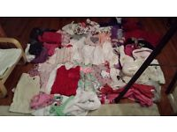 BABY KIDS GIRLS FULL BUNDLE OF CLOTHES GAP MONSOON H&M COMPLETE WARDROBE SIZE 1 - 2 YEARS 24 Months