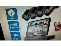 CCTV complete system New