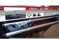 Aluminium Universal Roof Bars for cars with Factory Roof Rails