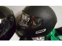 Joblot motorcycle helmets newx14