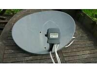 Sky satellite dish