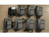 8 x Office telephones, Radius and Doro 913C