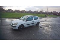 LEFT HAND DRIVE,LHD,, RENAULT CLIO DIESEL, BARGAIN !! NO OFFERS