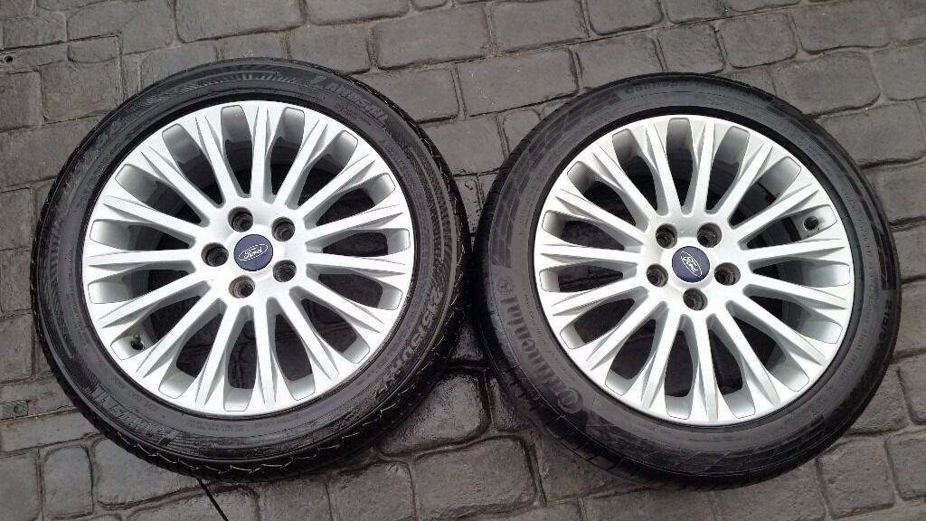 ford c max 17 titanium alloys fitted with 215 50 17 tyres fits mondeo focus volvo in east. Black Bedroom Furniture Sets. Home Design Ideas